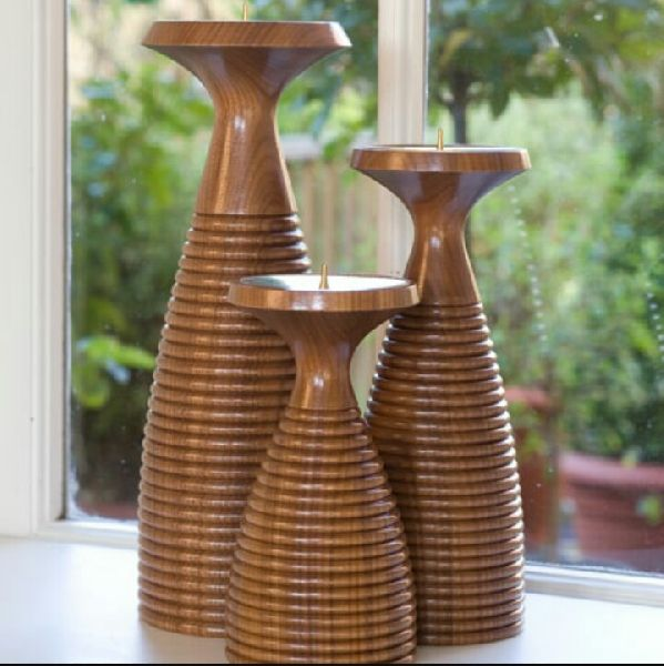 Wooden Candle Stand 04