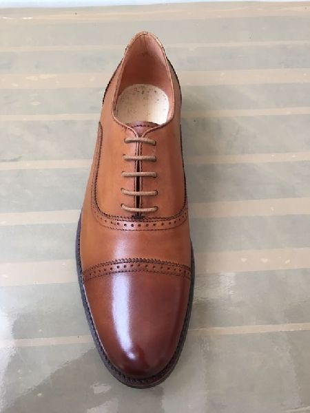 Mens Brown Leather Shoes 03