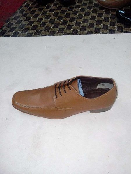 Mens Brown Leather Shoes 04