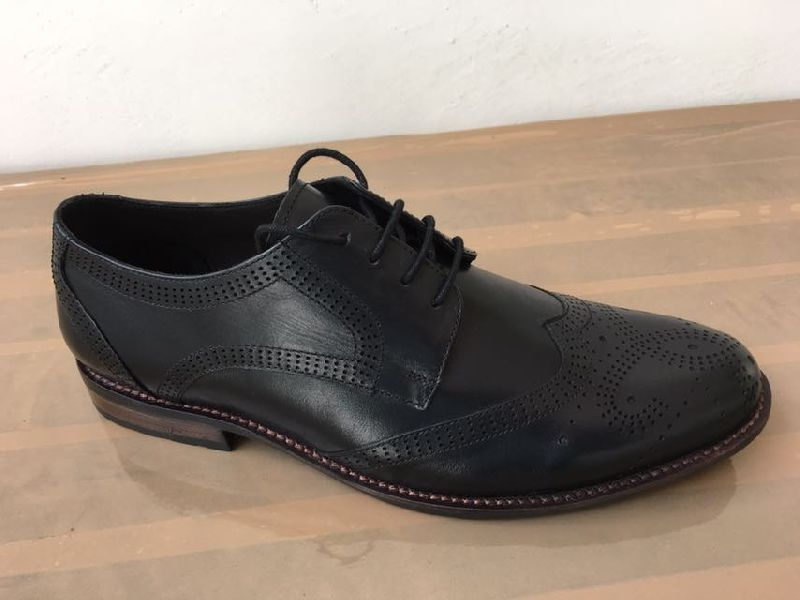 Mens Leather Sheet Sole Shoes 01