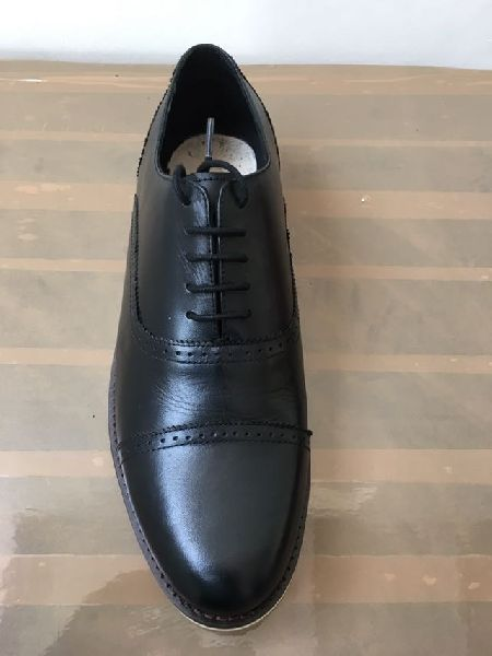 Mens Leather Sheet Sole Shoes 04