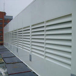 Exhaust Acoustic Louvers