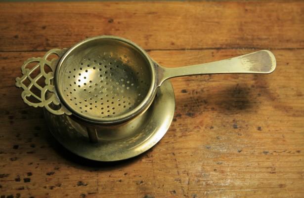 Brass Tea Strainer