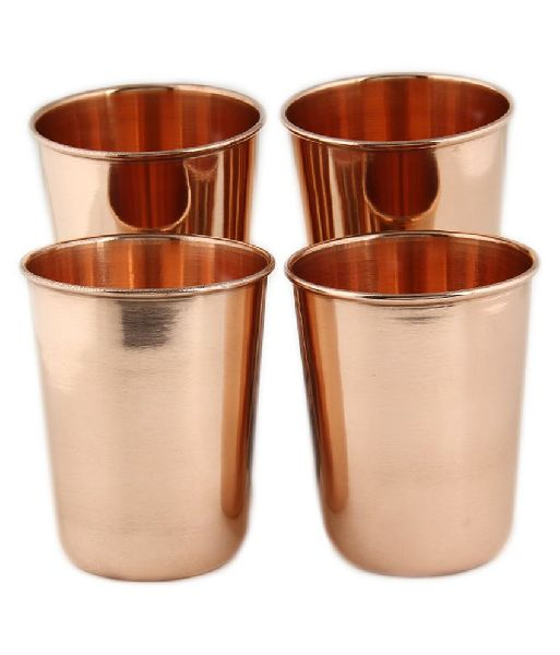 Copper Glass Set