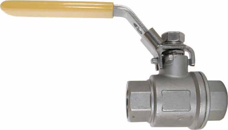 One Piece Stainless Steel Ball Valve