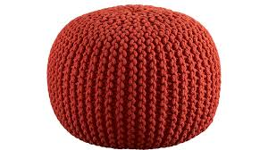 Knitted Pouf 01