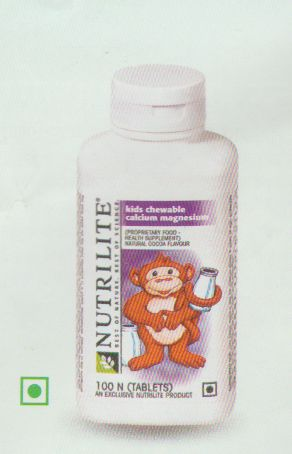 Nutrilite Kids Chewable Calcium Magnesium Tablets