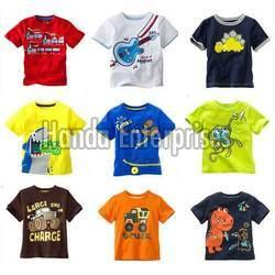 Boys Round Neck T-Shirt 01