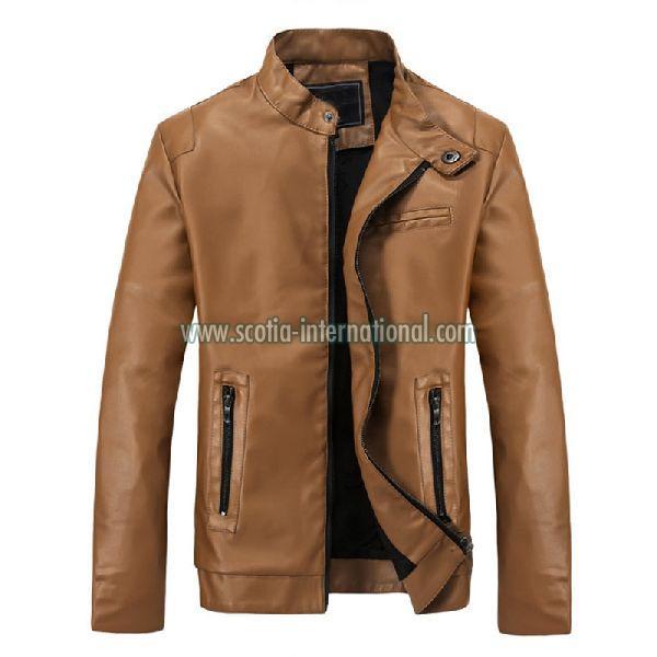 PU Leather Jacket 02