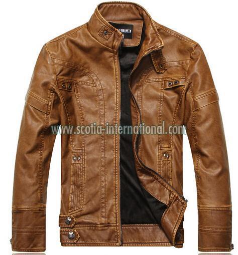 PU Leather Jacket 04