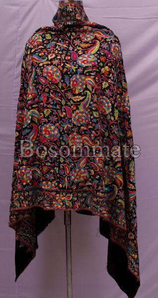 Ladies Black Pashmina Shawls