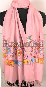 Ladies Embroidered Stoles