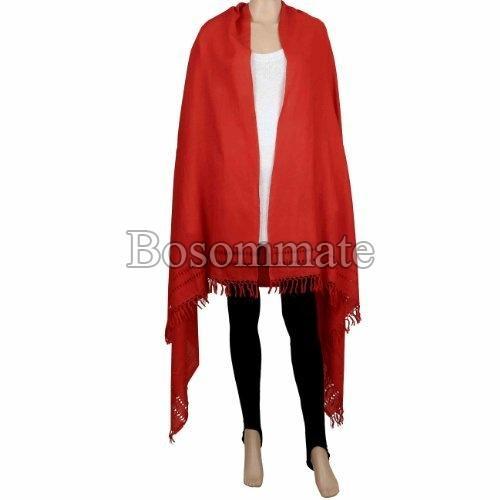 Ladies Plain Woolen Wraps
