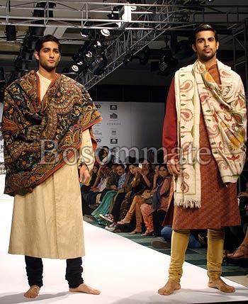 Mens Designer Shawls