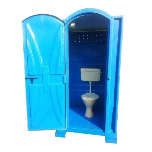 Single Cabinet FRP Eco Friendly Portable Toilet Manufacturer