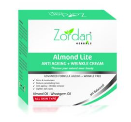 Almond Lite Anti Ageing + Wrinkle Cream