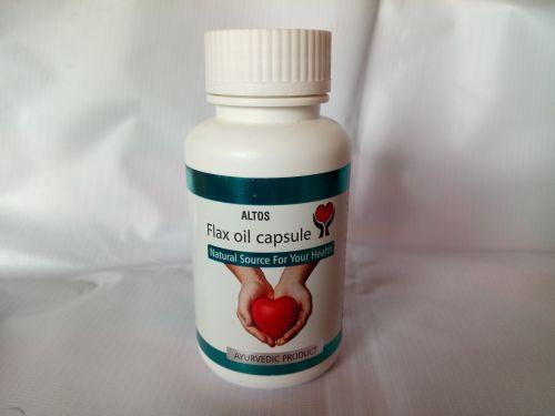 Flax Oil Capsule