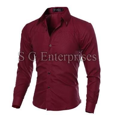 Mens Casual Check Shirt 03