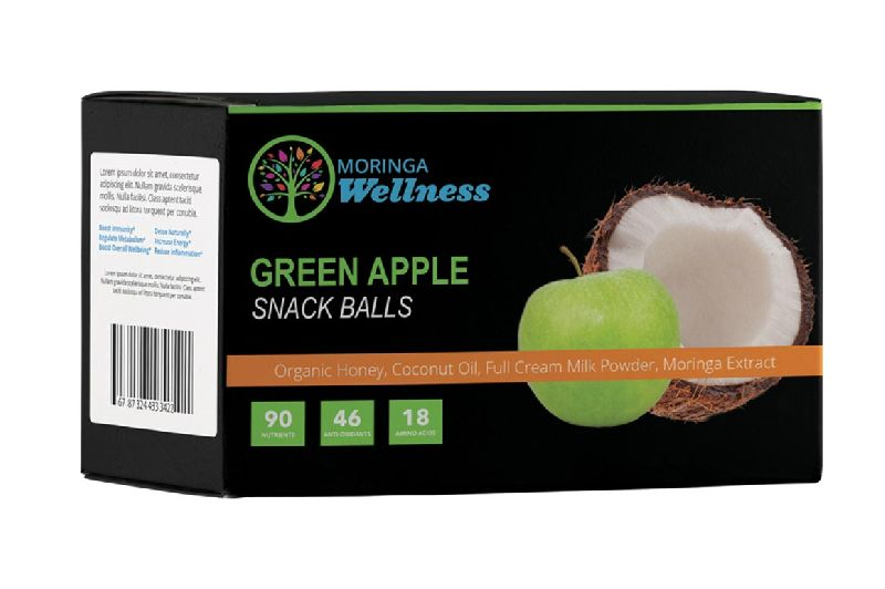 Green Apple Snack Balls