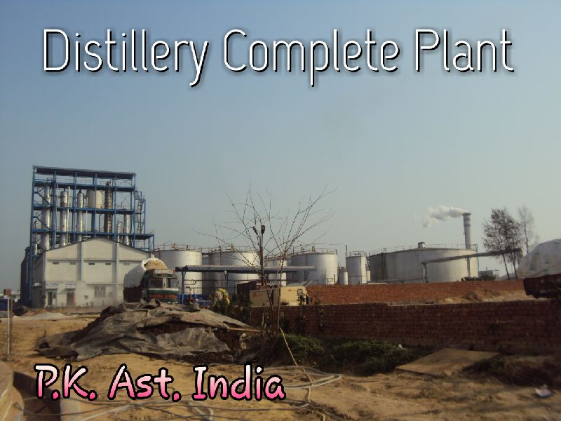 Distillery Plant Fabrication Services