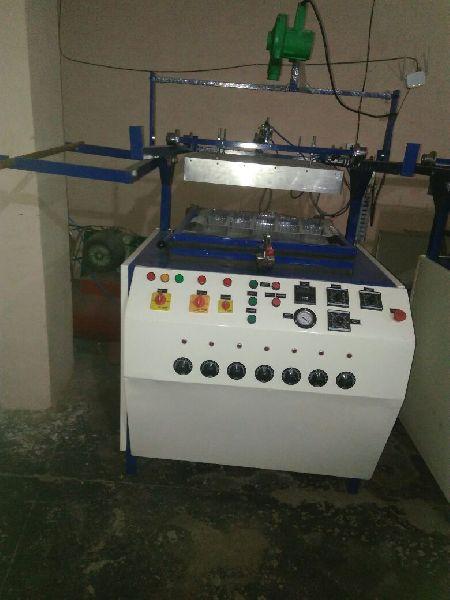 Semi Automatic Thermocol Plate Making Machine 01