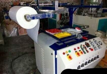 Semi Automatic Thermocol Plate Making Machine 03
