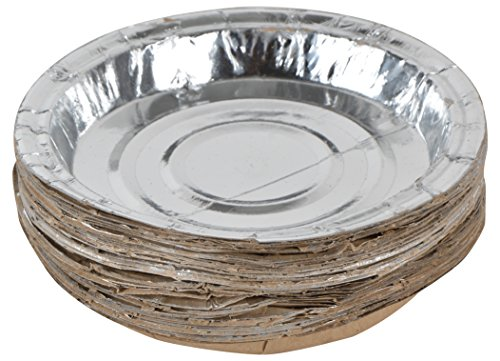 Silver Paper Plate 02