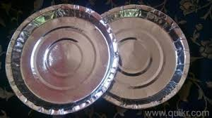 Silver Paper Plate 03
