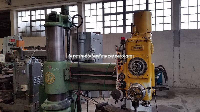 Breda Radial Drilling Machine 02
