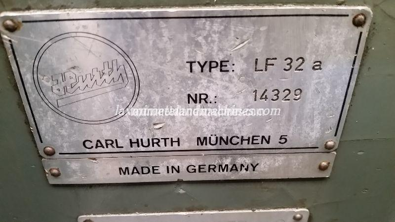 Hurth Key-Way Milling Machine 02