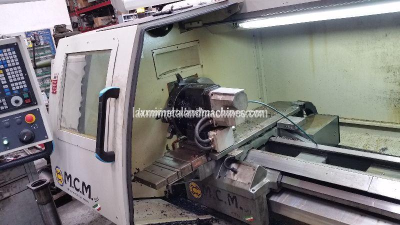 M.C.M - CNC Lathe Machine 02
