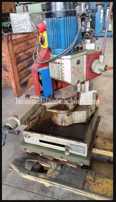 Used Pedrazzoli Super Brown Bandsaw Machine