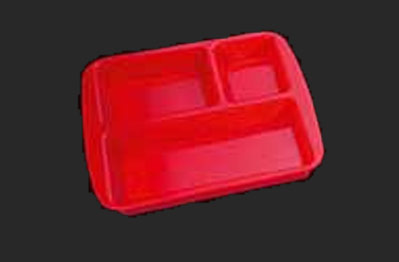 Polycarbonate Tray with Compartment 01