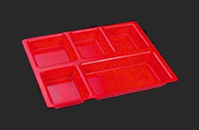 Polycarbonate Tray with Compartment 02