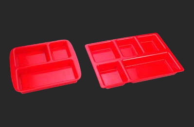 Polycarbonate Tray with Compartment 06