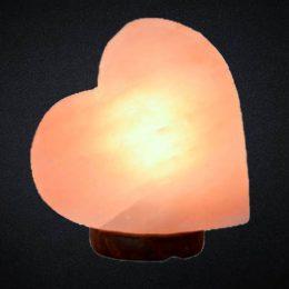 Big Heart Shaped Crafted Himalayan Salt Lamp