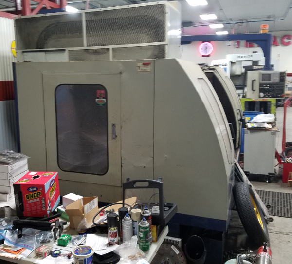VMC Machining Center 02