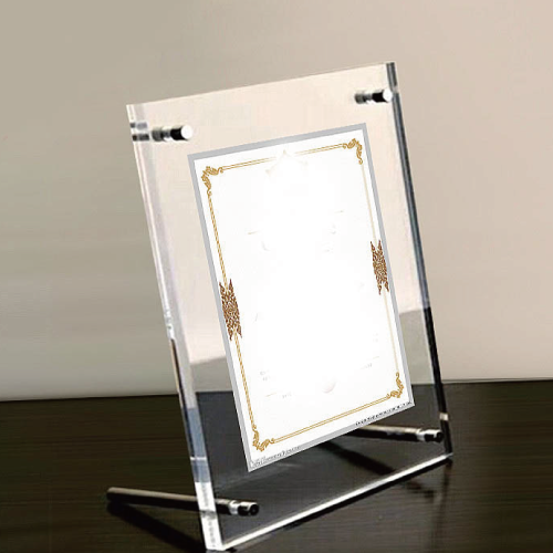 Perspex Photo Frame