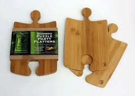 Bamboo Puzzle Cutting Board