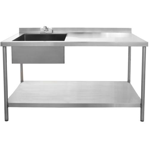 Single Sink Work Table