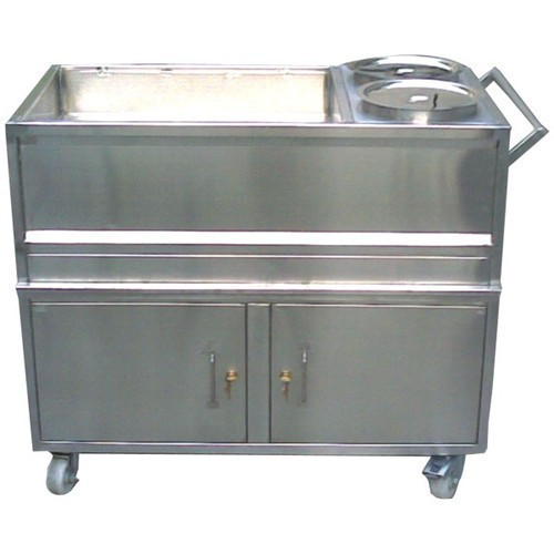 Stainless Steel Food Service Trolley 01
