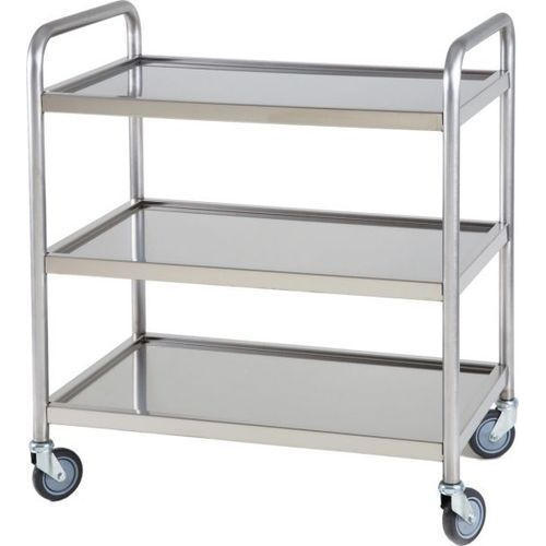 Stainless Steel Food Service Trolley 02