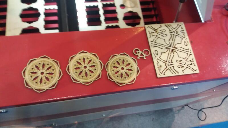 Wood & Acrylic Laser Engraving Machine 06