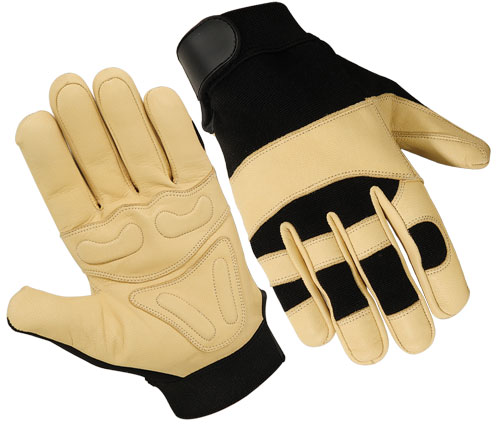 Best Quality Mechanic Gloves / Goatskin Palm Mechanic Gloves / Safety Gloves