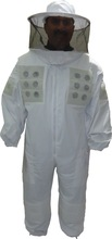 BK2920 Round Hood Ventilated Beekeeping Suit