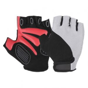 Bike Gloves, Synthetic Leather Bike Gloves / Racing Gloves, Lycra Cycle Gloves