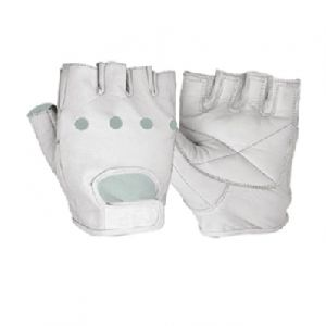 Weight Lifting Gloves / Best Fitness Gloves in Leather back on Mesh / Fitness Gym Gloves