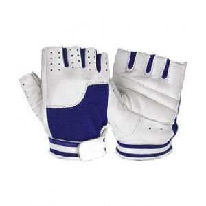 Weight Lifting Gloves/ Fitness Gym Gloves / Fitness Gloves in Leather back on Mesh