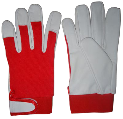 Top Quality Assembling Gloves, Nappa Leather Work Gloves / Goatskin Leather Work Gloves / Auto Mechanic Gloves