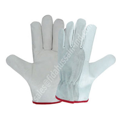 Best Car Driving Gloves, Cowhide Leather Driving Gloves / Canadian Rigger Gloves / Auto Mechanic Gloves